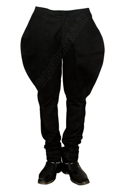 Black Jodhpur Breeches