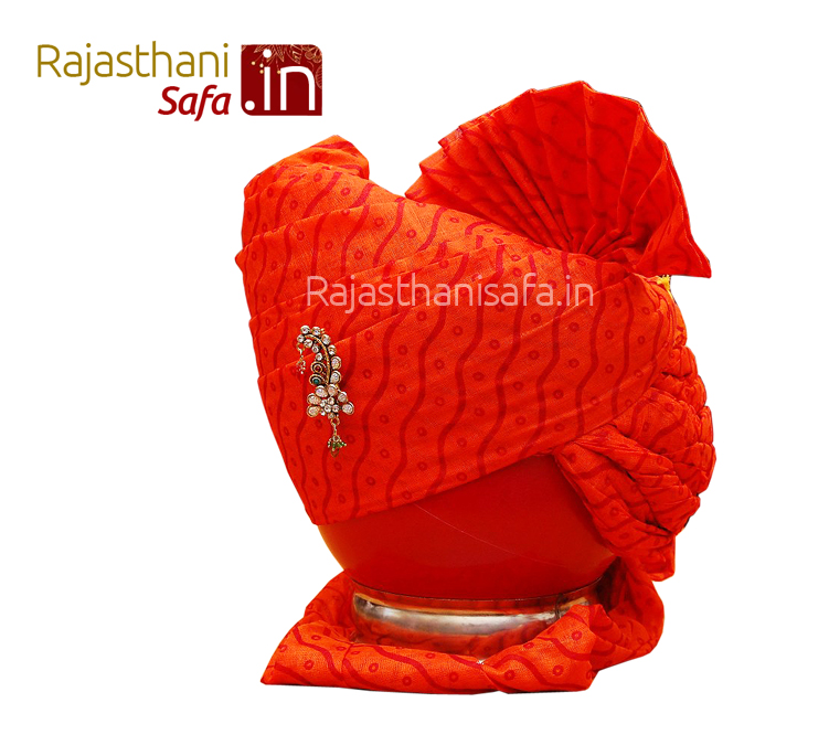 Regal Look Wedding Turban in  Punjabi Style