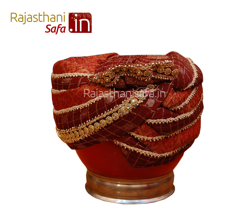Indian Wedding Safa Ready Made Style