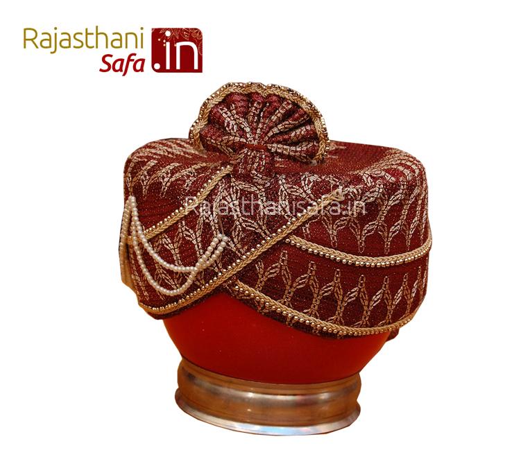 Royal Look Wedding Turban for Groom