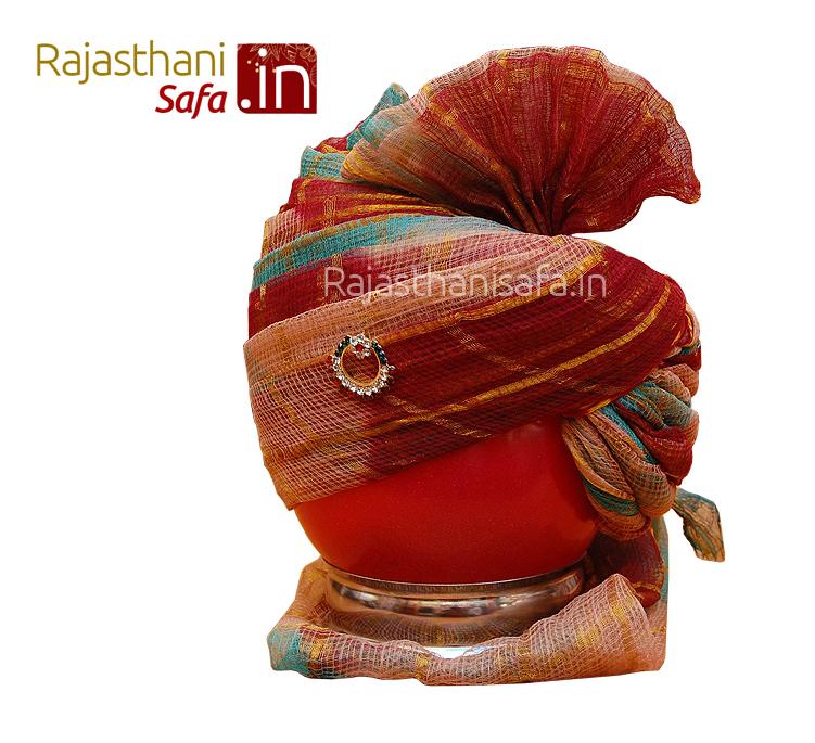 Designer Wedding Safa in Rajputi Style